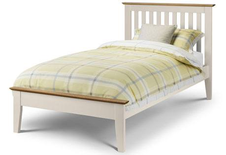 Julian Bowen - Salerno Two Tone Shaker Style Bed Product Image