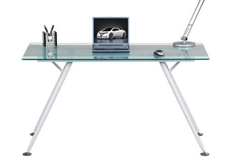 Alphason - Springfield Glas Computer Desk Product Image