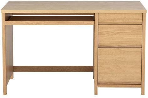 oak desks for home office. keyboard shelf alphason hunter oak home office desk desks for o