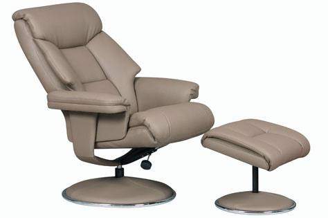 GFA - Biarritz Swivel Recliner & Footstool Product Image
