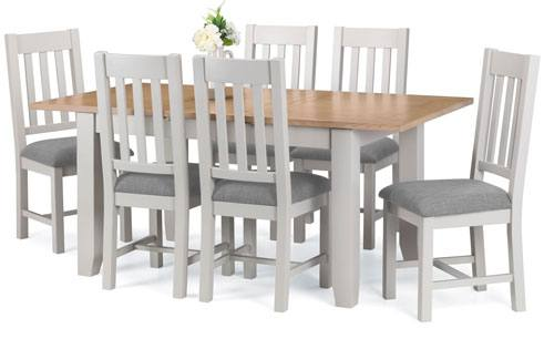 Julian Bowen - Richmond Grey Dining Product Image
