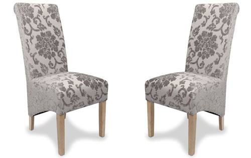 Shankar - Krista Baroque Velvet Dining Chair Product Image