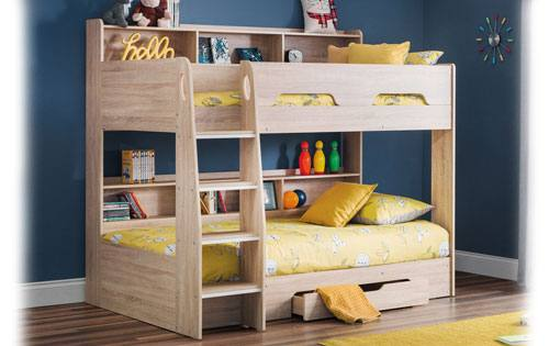 Julian Bowen - Orion Sonoma Oak Bunk Bed Product Image