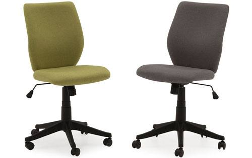 Vida Living - Nordin Office Chair: Green Linen