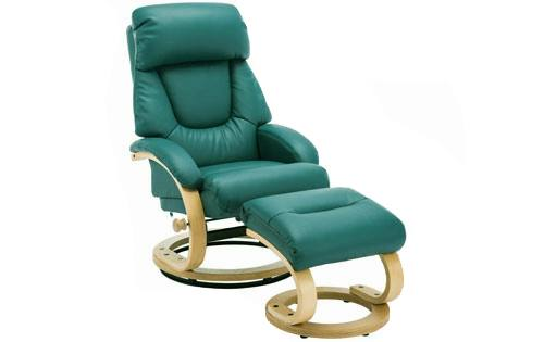 GFA - Livia Swivel Recliner & Footstool Product Image