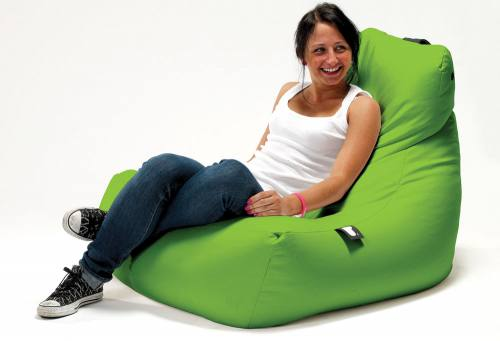 Extreme Lounging - Mighty B-Bag: Aqua PU Fabric