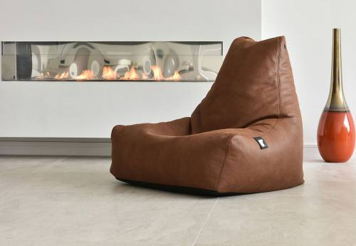 Extreme Lounging - Mighty Luxury B-Box: Faux Leather Charcoal