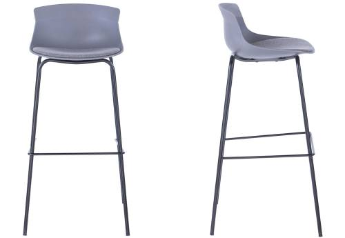 Alphason - Helena Bar Stool: White Seat