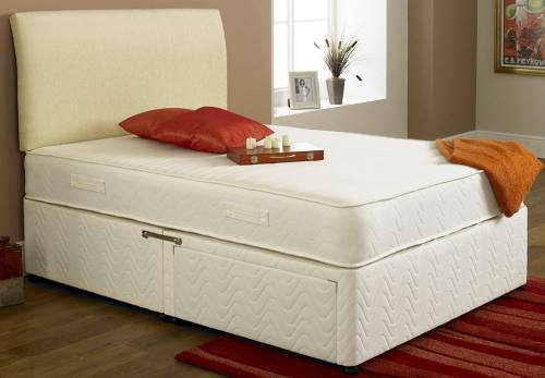 Highgate beds healthopaedic supreme vasco ortho sprung for Ortho divan beds