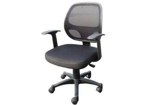 Alphason - Davis Black Mesh Office Chair