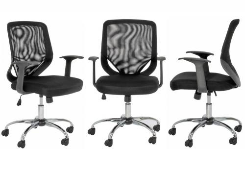 Alphason - Atlanta Black Mesh Back Office Chair