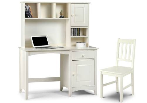 Julian Bowen - Cameo Desk & Hutch with Cameo Chair Product Image