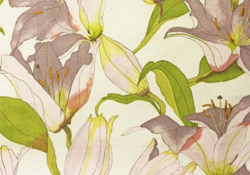 Swaffer Fabrics - Handpicked Book - Lilies 04 Product Image