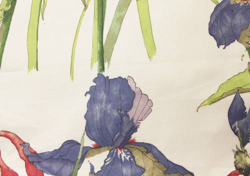Swaffer Fabrics Paradis Book Iris 43 Acer Willow