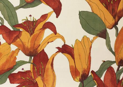 Swaffer Fabrics - Handpicked Book - Lilies 03 Product Image