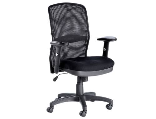 Alphason - Dakota Black Mesh Back Managers Chair