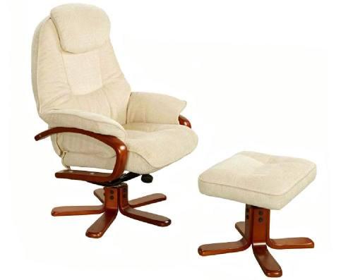 gfa hong kong fully adjustable swivel recliner chair stool