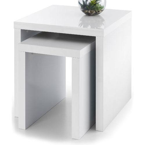 Metro White High Gloss Coffee Table: Metro Occasional Tables
