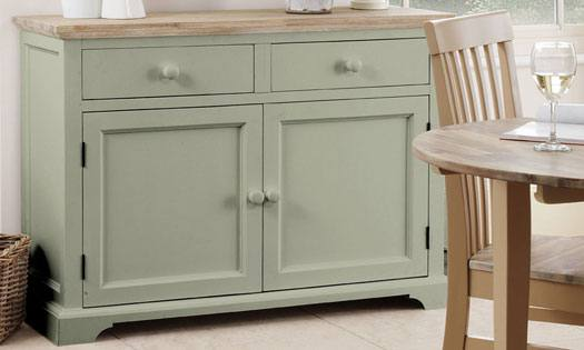 Statement Furniture Florence Sage Green Matt Painted Washed
