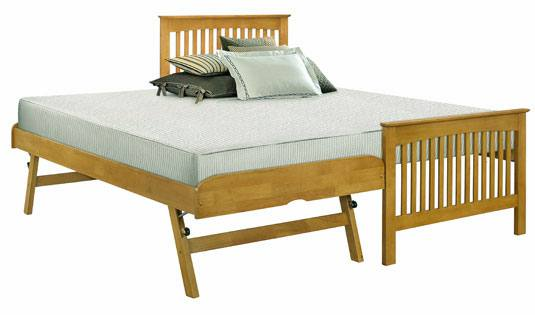 Birlea Furniture - Toronto Oak Guest Bed Product Image