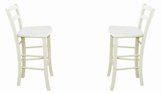 Off White. HND - Montparnasse Bar Chair ...  sc 1 st  Sofa and Home & HND - Montparnasse Wood Bar Chairs - In 3 Painted Satin Colours ... islam-shia.org