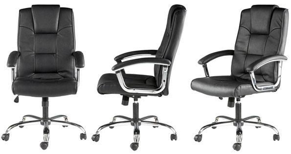 Alphason Houston Leather Executive Office Chair