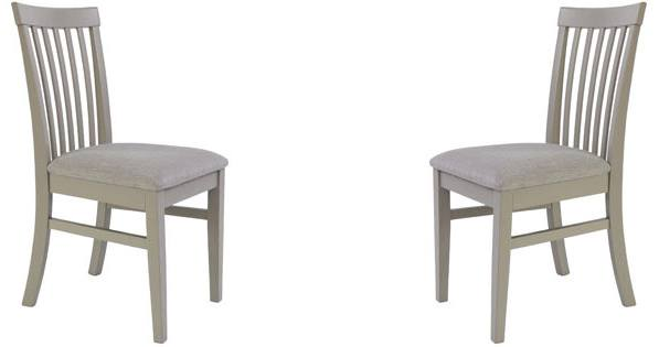 High Back Upholstered Chairs. Statement Furniture   Florence Dove Grey  Kitchen ...
