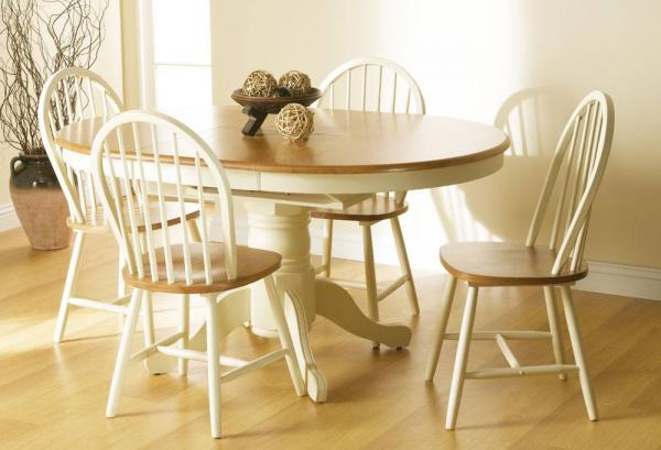 Vida Living - Cotswold Extending Dining Table & 4 Windsor Dining Chairs