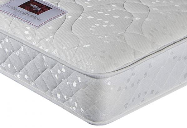 Airsprung Beds - Sleepwalk Memory Gold Kingsize Mattress