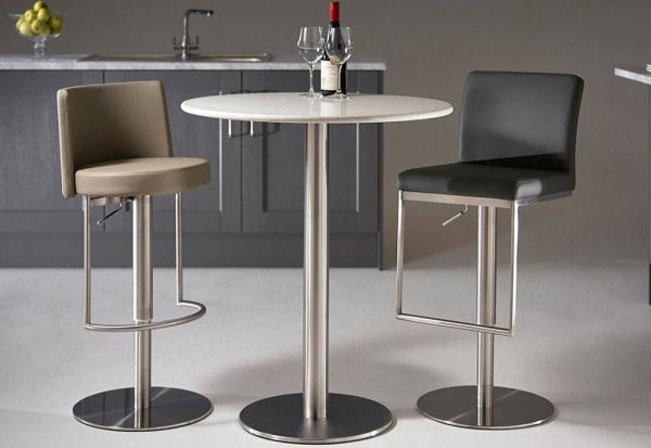 HND - Helsinki Round Bar Stool Tables - 70cm Dia
