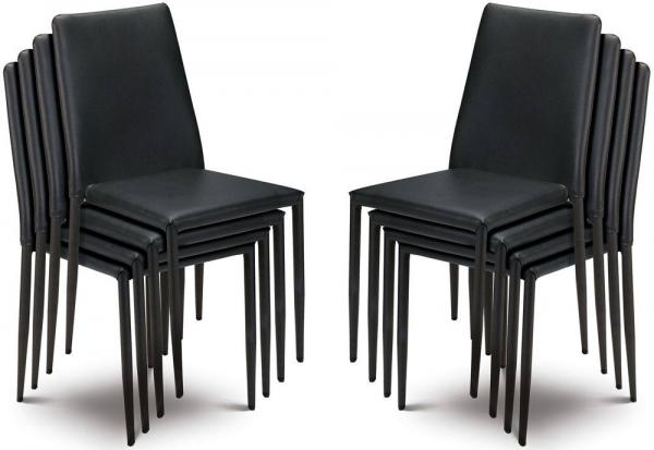 Julian Bowen - Jazz Stacking Chairs - Set of 6