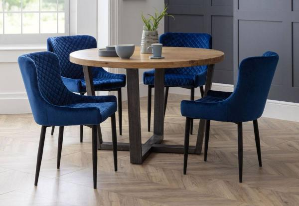 Julian Bowen - Luxe Dining Chairs - Set of 4
