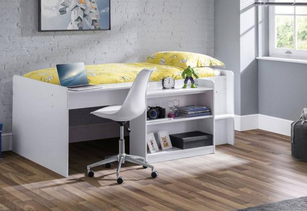 Julian Bowen - Neptune Mid Sleeper with Mattress with Chair - Package