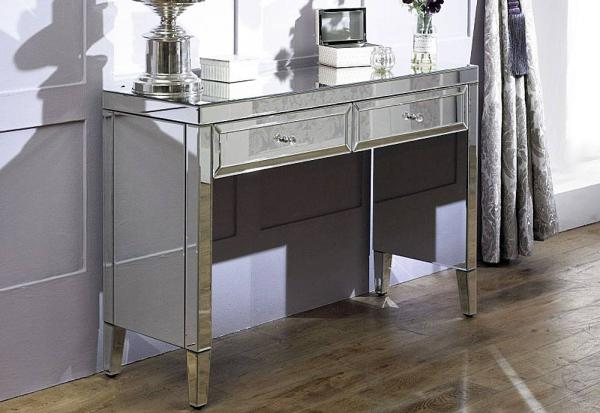 Birlea Furniture - Valencia Mirrored 2 Drawer Sideboard