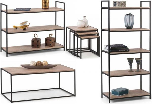 Julian Bowen - Tribeca Bookcases & Occasional Tables - Package