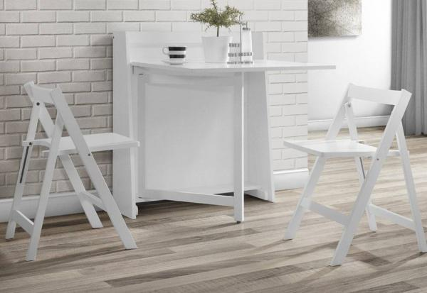 Julian Bowen - Helsinki Dining Set - White Finish