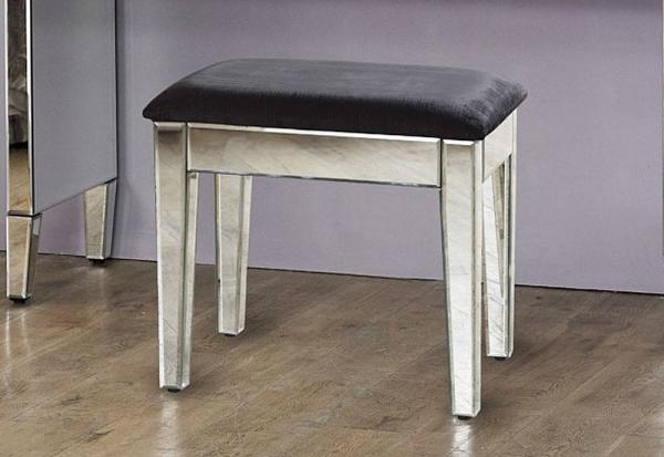 Birlea Furniture - Valencia Mirrored Dressing Stool
