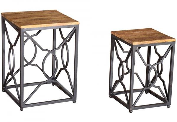 Vida Living - Tangier Nest of Tables - 2 Per Set