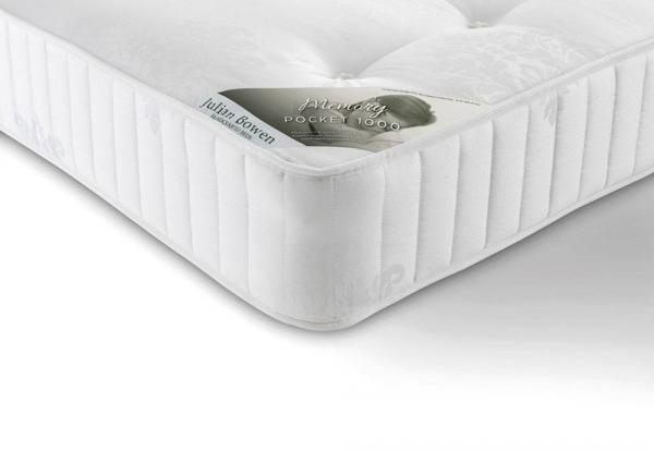Julian Bowen - Memory Pocket Sprung 1000 Kingsize Mattress