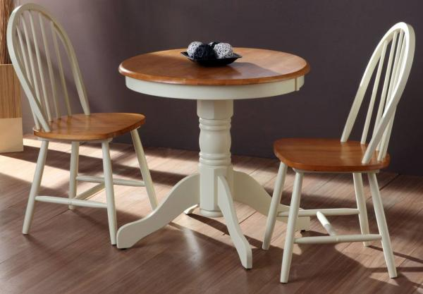 Vida Living - Kinver Dining Table & 2 Windsor Dining Chairs