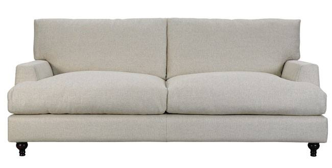 Paulus Brown Cantebury Loose Cover Fabric Sofas Large