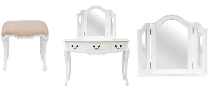 Statement Furniture Juliette Bedroom Range White