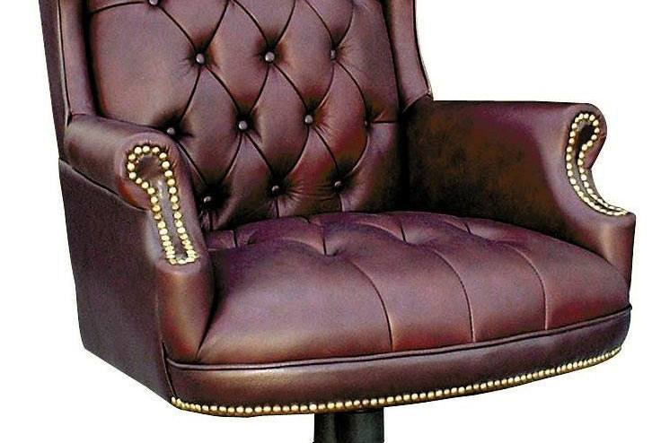 Teknik Office Chairman Leather Executive Swivel Chair