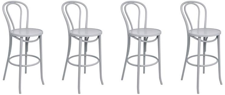 HND - Vendome Thonet Bentwood Bar Stool Product Image