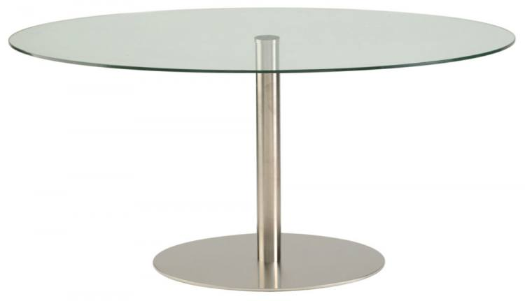 HND Helsinki Contemporary Dining Tables Brushed Steel  : 750x4311279549763HNDHelsinkiTableGlass from www.sofaandhome.co.uk size 750 x 431 jpeg 11kB