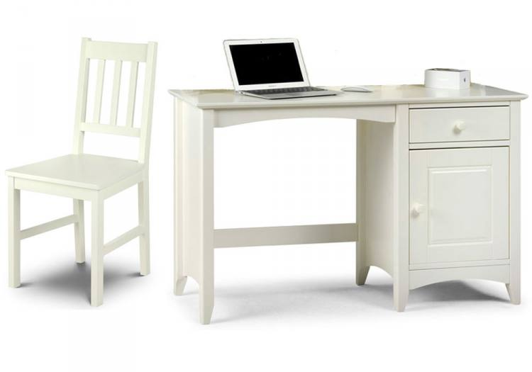 Julian Bowen Furniture Cameo Desk Hutch & Cameo Chair