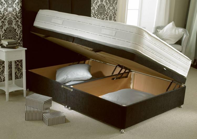 Home mattresses mattress pocket coil bed mattress sale for Divan bed sheet