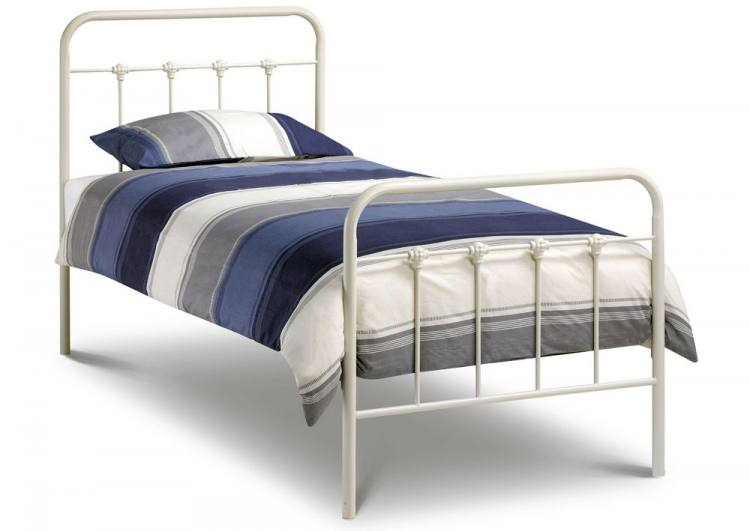White Wrought Iron Bunk Beds
