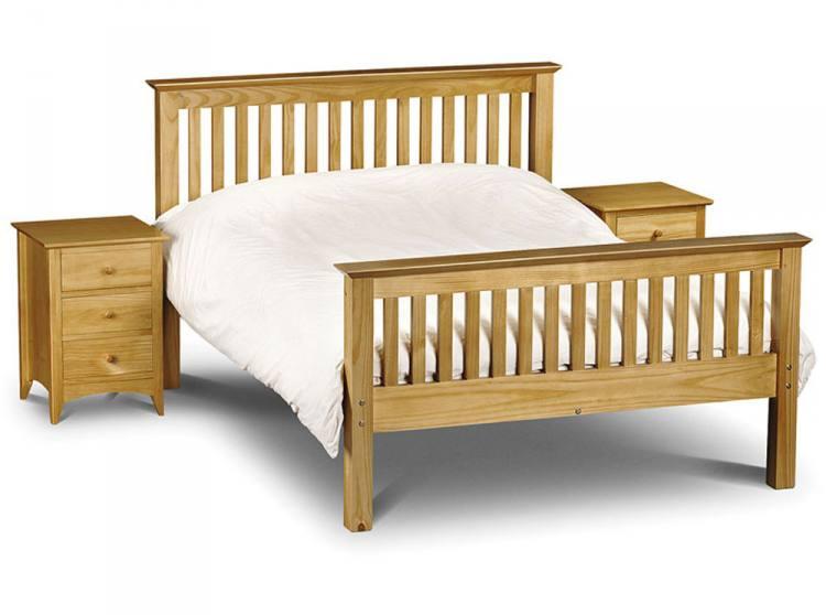 Julian Bowen Barcelona Pine Bed Frames Shaker Style