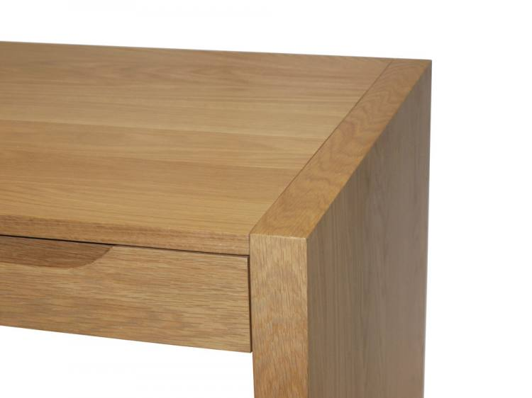 Alphason - Butler Oak Home Office Desk Product Image